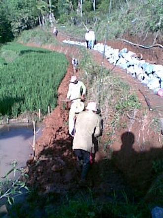 Album : Pembangunan di wilayah Desa Cilame